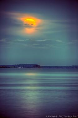 Supermoon Piney Point
