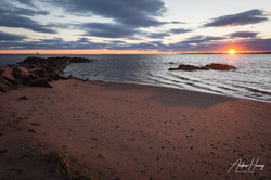 Sunset at 5 Mile Lighthouse Shore
