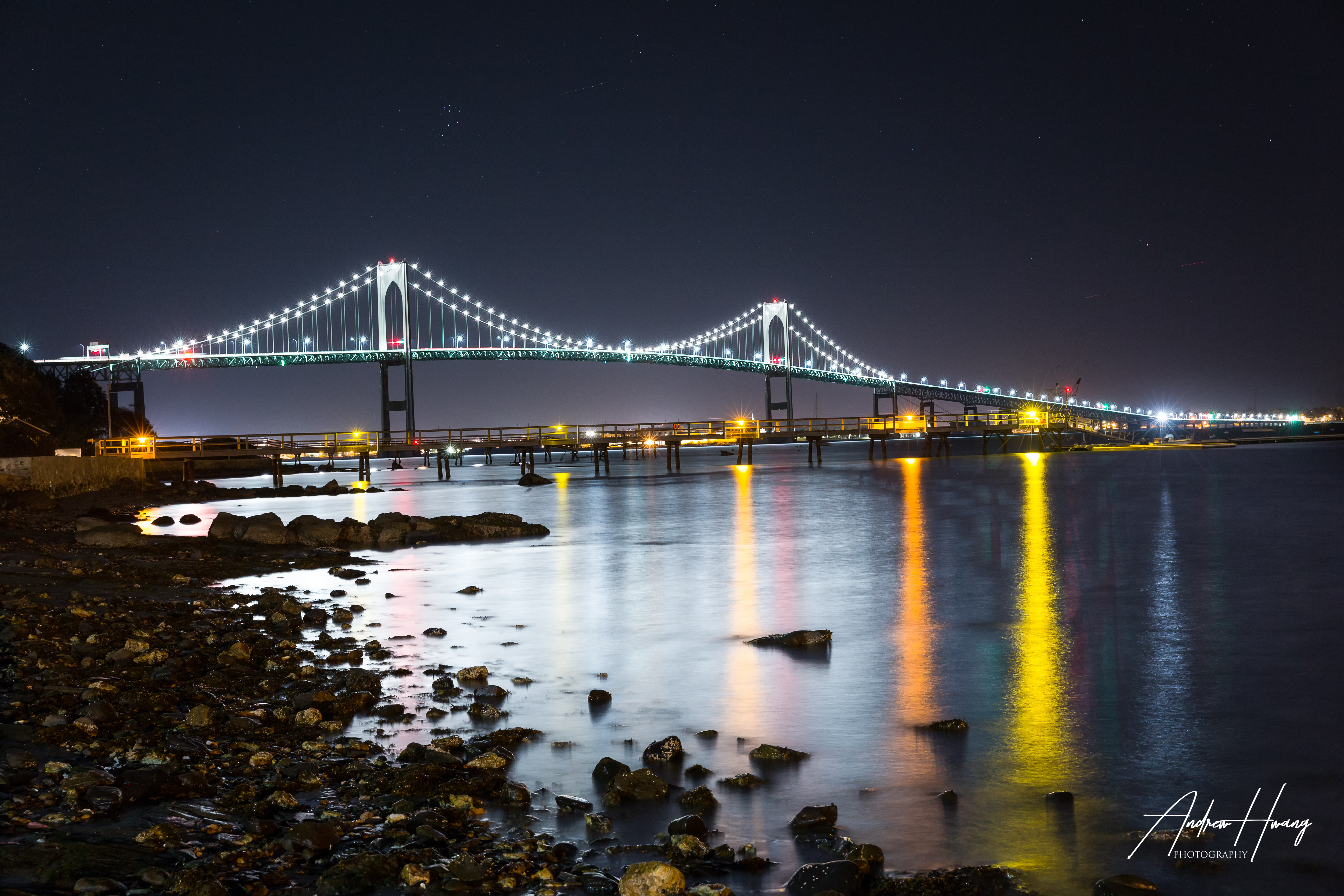 Newport Bridge Nightshot