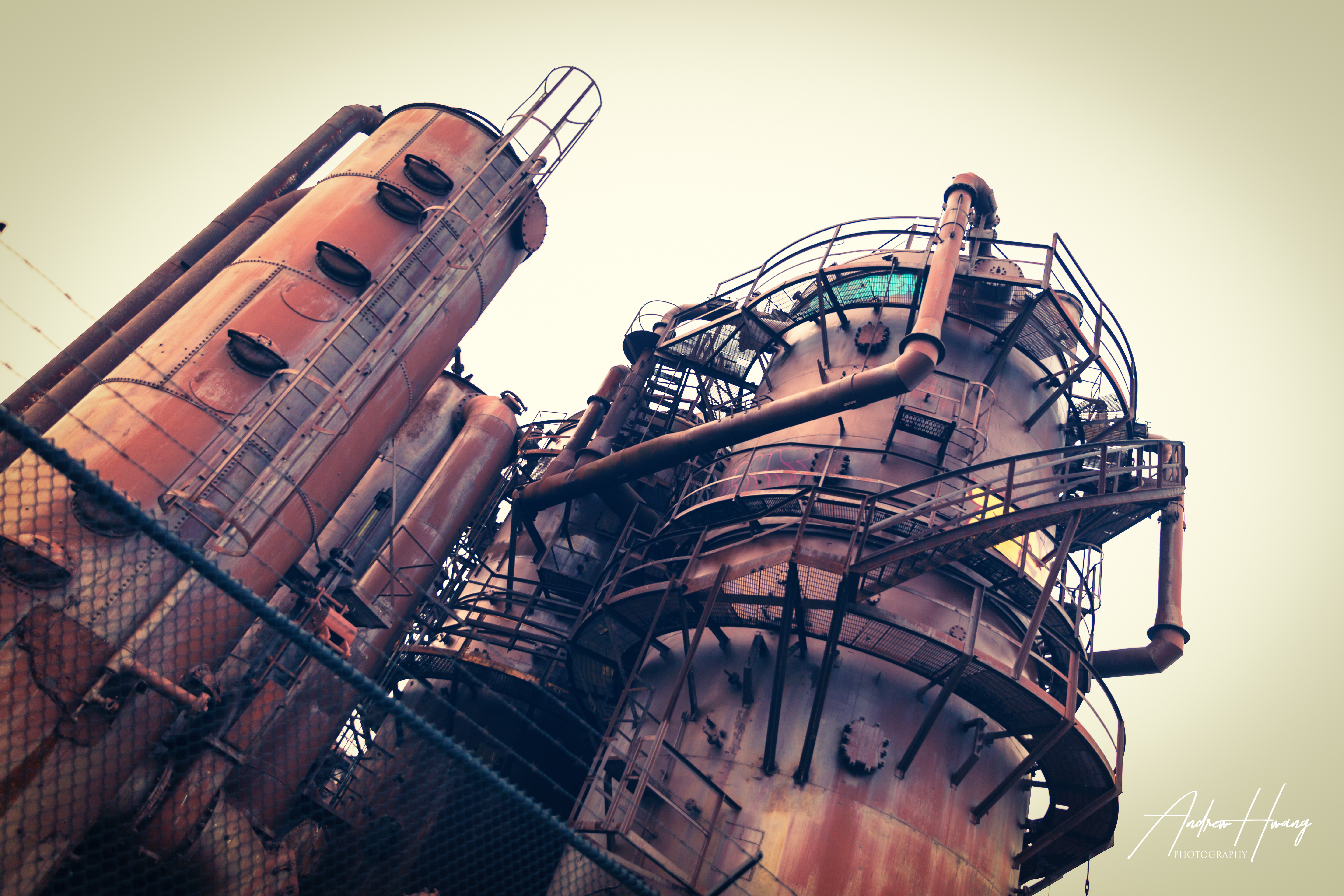 Gas Works Factory