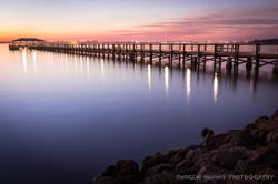 Melbourne Fl Sunset Pier 2