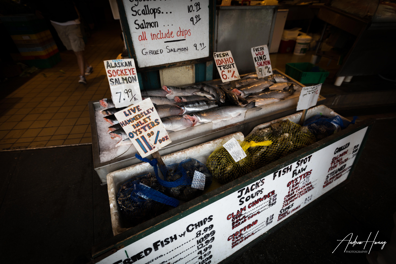 Seattle Public Market Fish