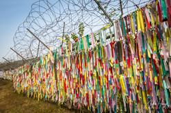 Prayer Ribbons at DMZ
