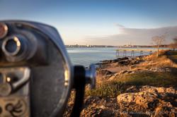 Tower Viewer Golden Hour