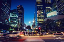 Seoul Downtown Blue Hour