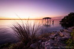 Melbourne Fl Sunset Rocks 3