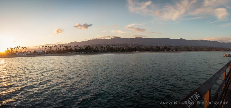Santa Barbara Pier Pano