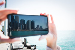 Perspective Chicago Skyline Navy Pier