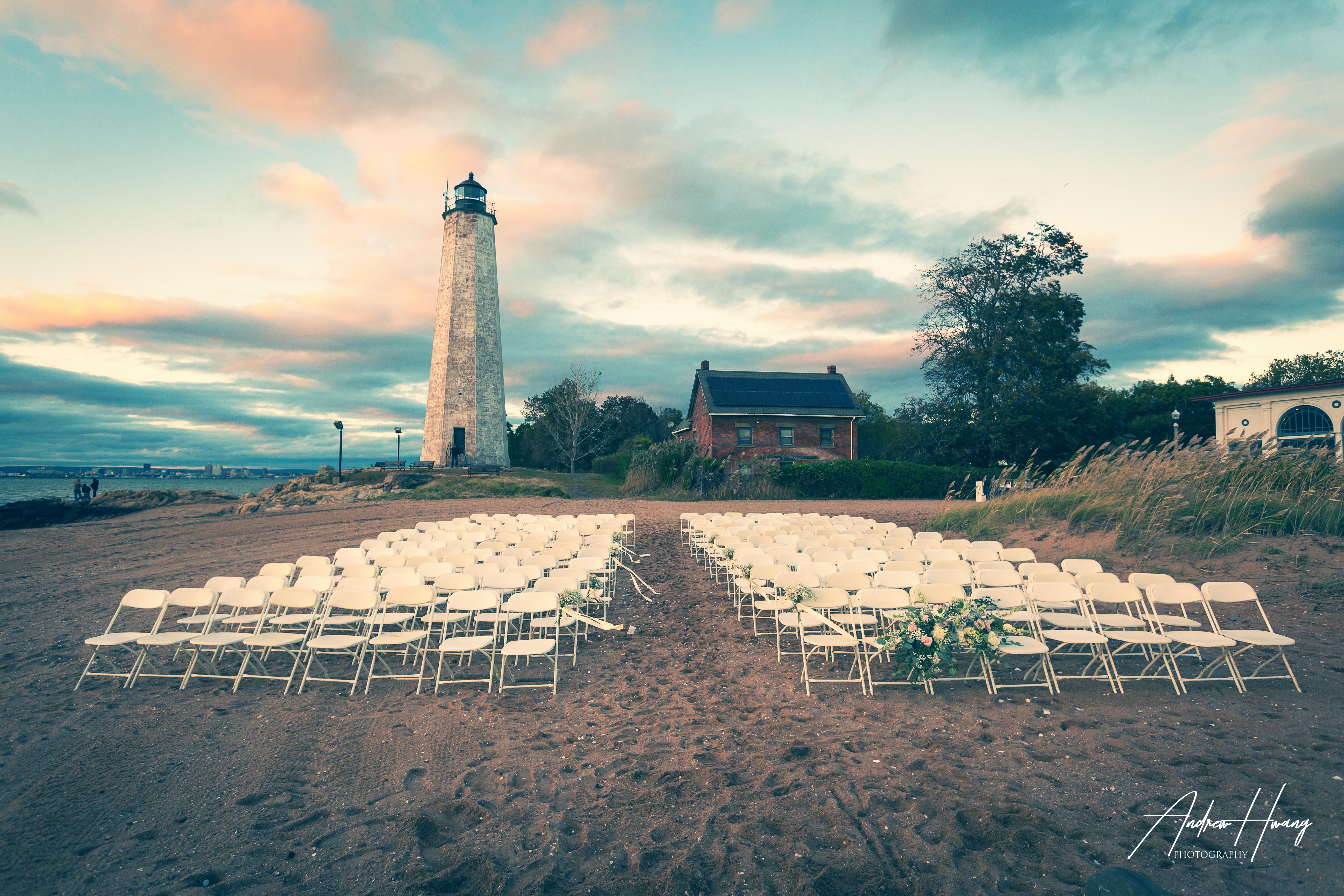5 Mile Lighthouse Wedding