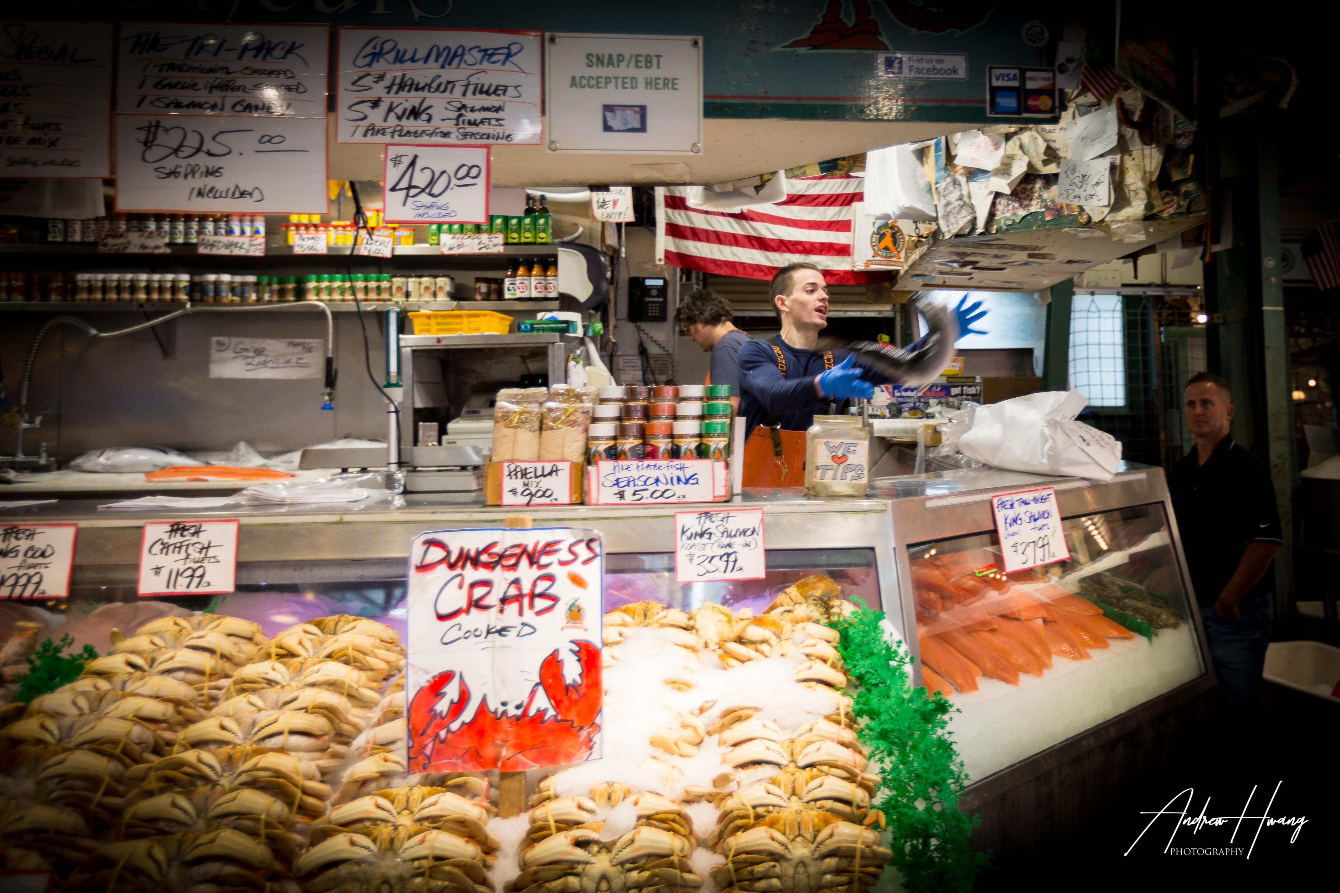Famous Fish Toss Public Market