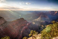 Grand Canyon Lens Flare