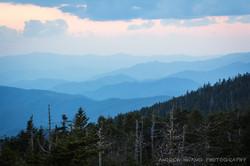 Clingmans Dome Blue Hour Smoky Mountains