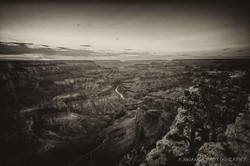 Grand Canyon B_W 2