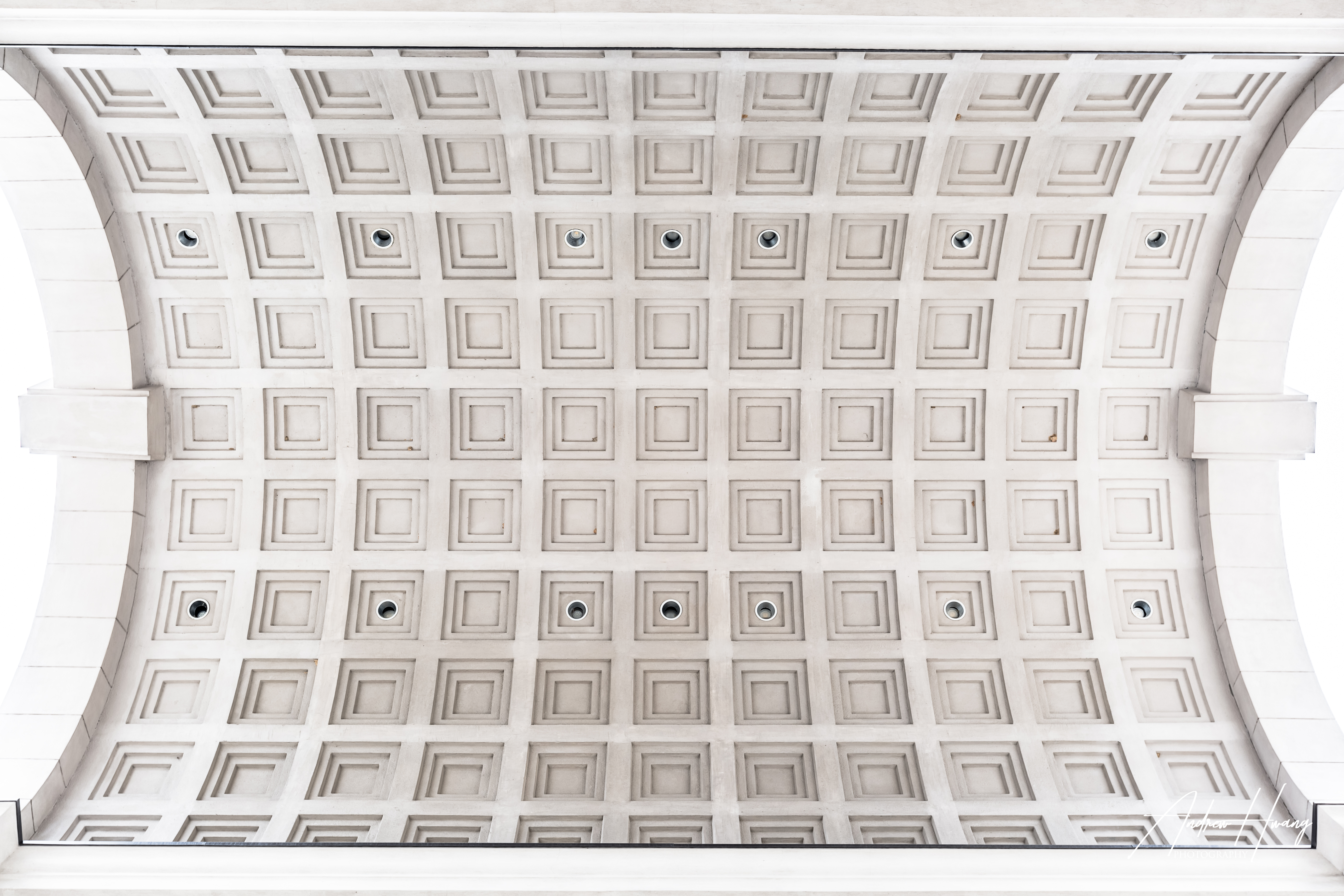 Atlanta - Millennium Gate Arch Ceiling