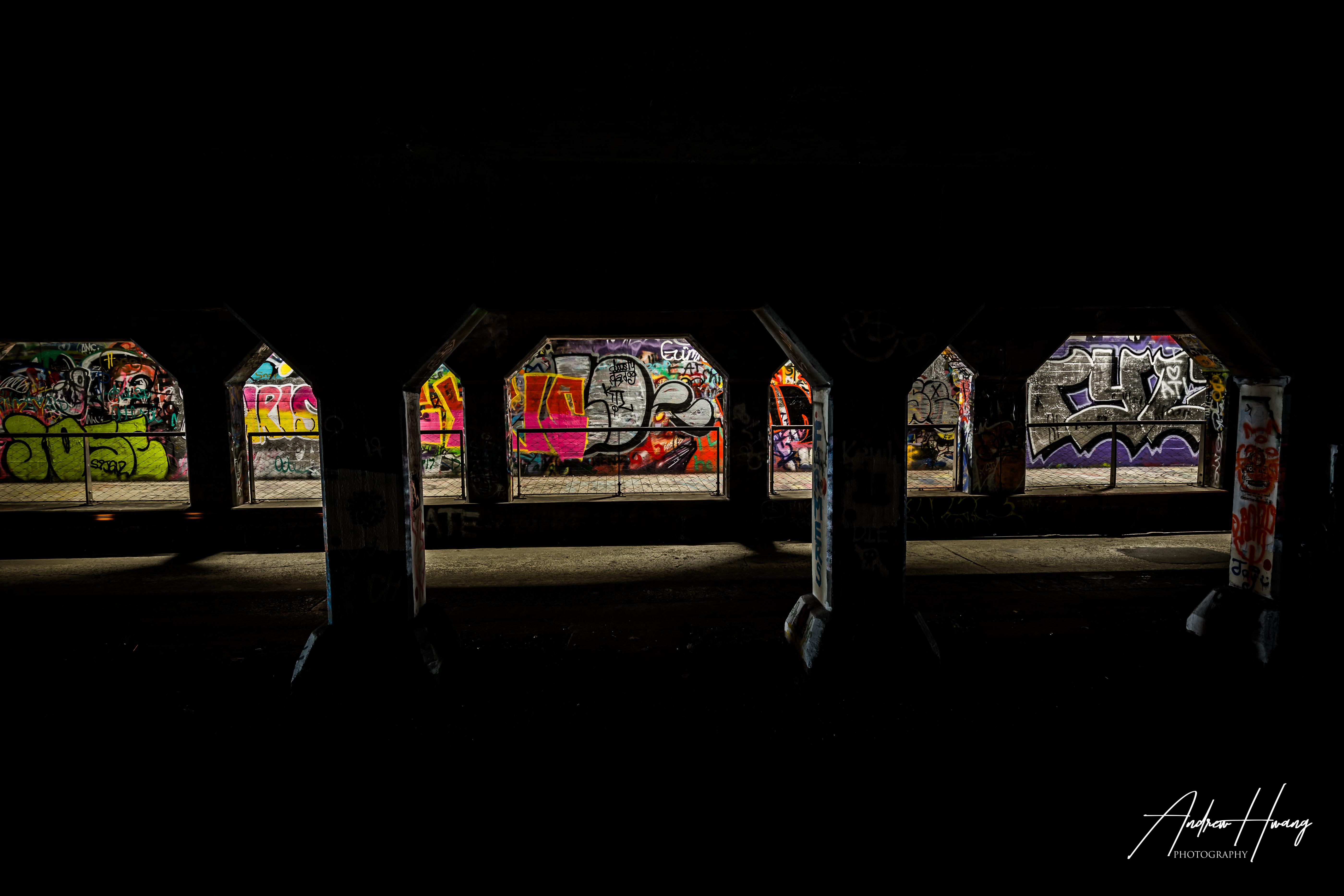Krog Street Tunnel Silhouette
