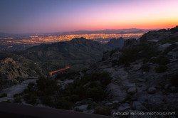 Mt Lemmon Sunset Pink Sky