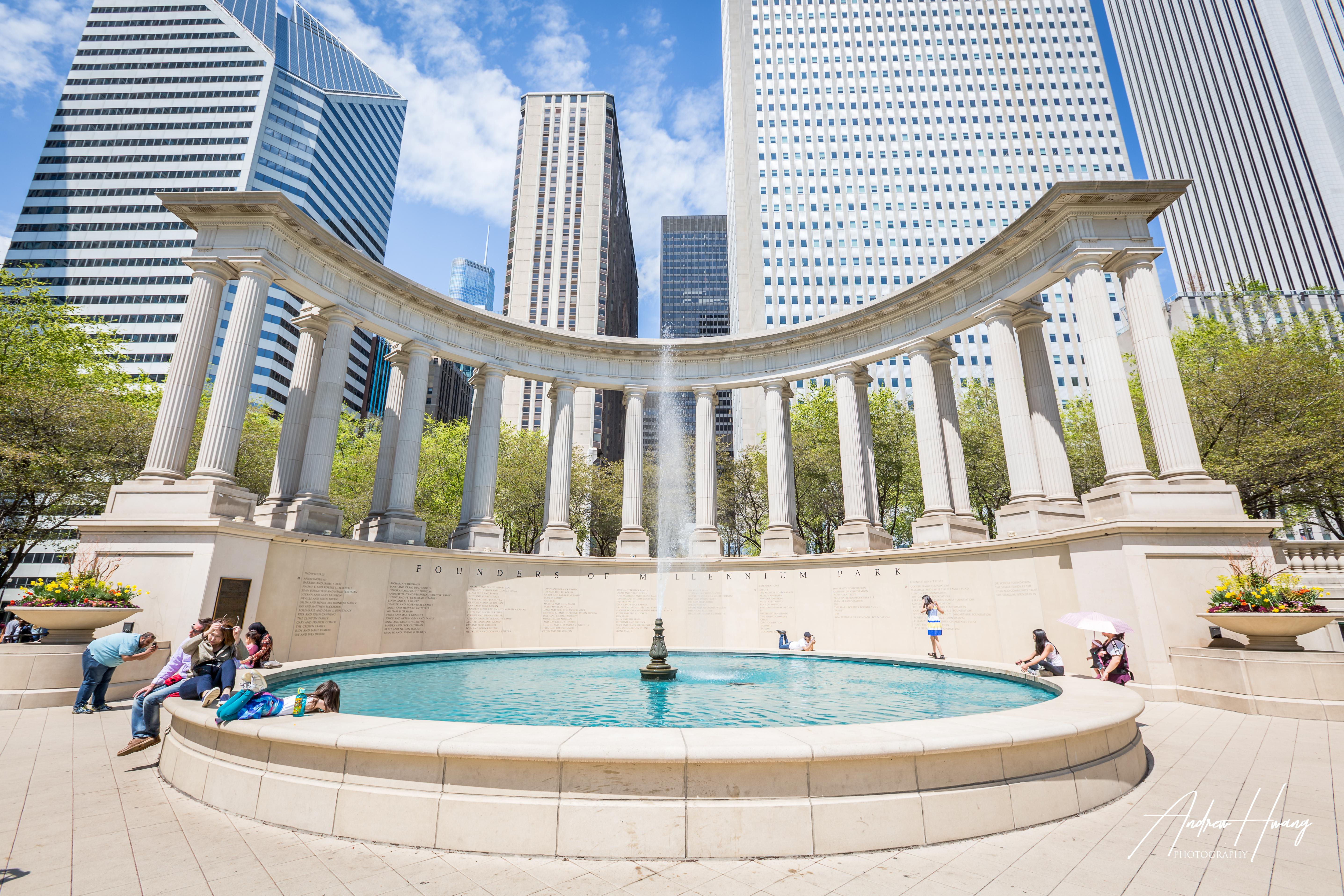 Founders of Millennium Park Chicago
