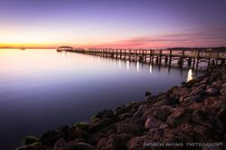 Melbourne Fl Sunset Rocks 6