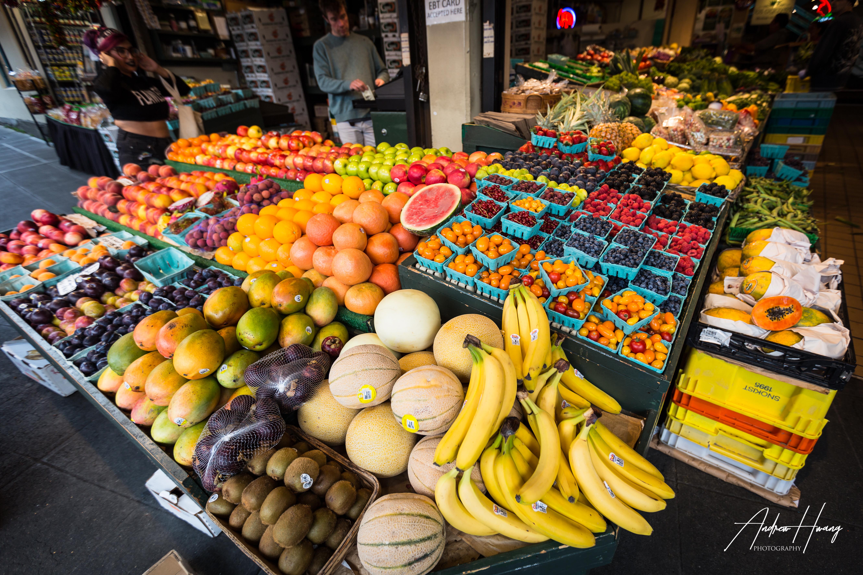 Seattle Public Market Food
