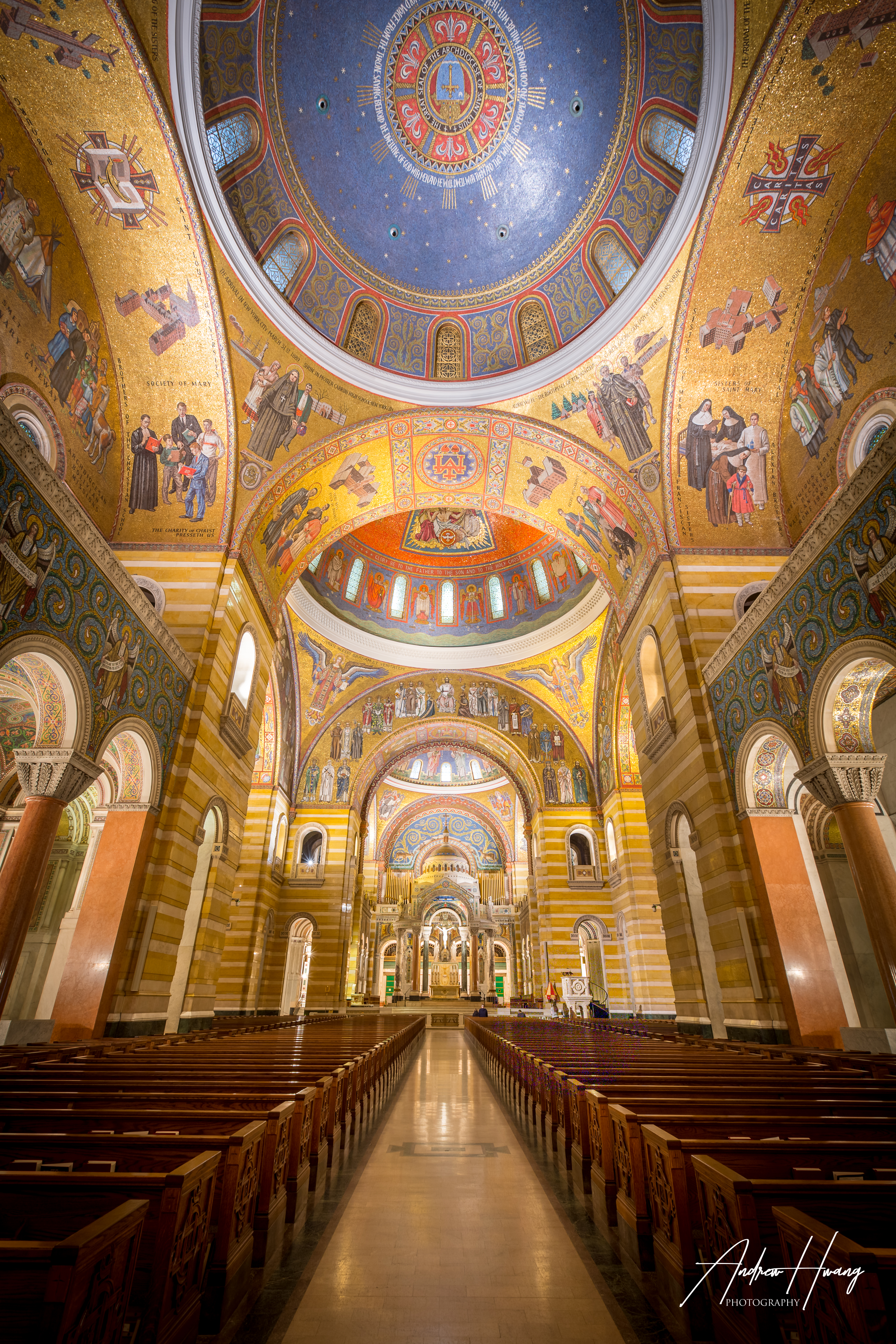 St Louis Cathedral Basilica Vertical