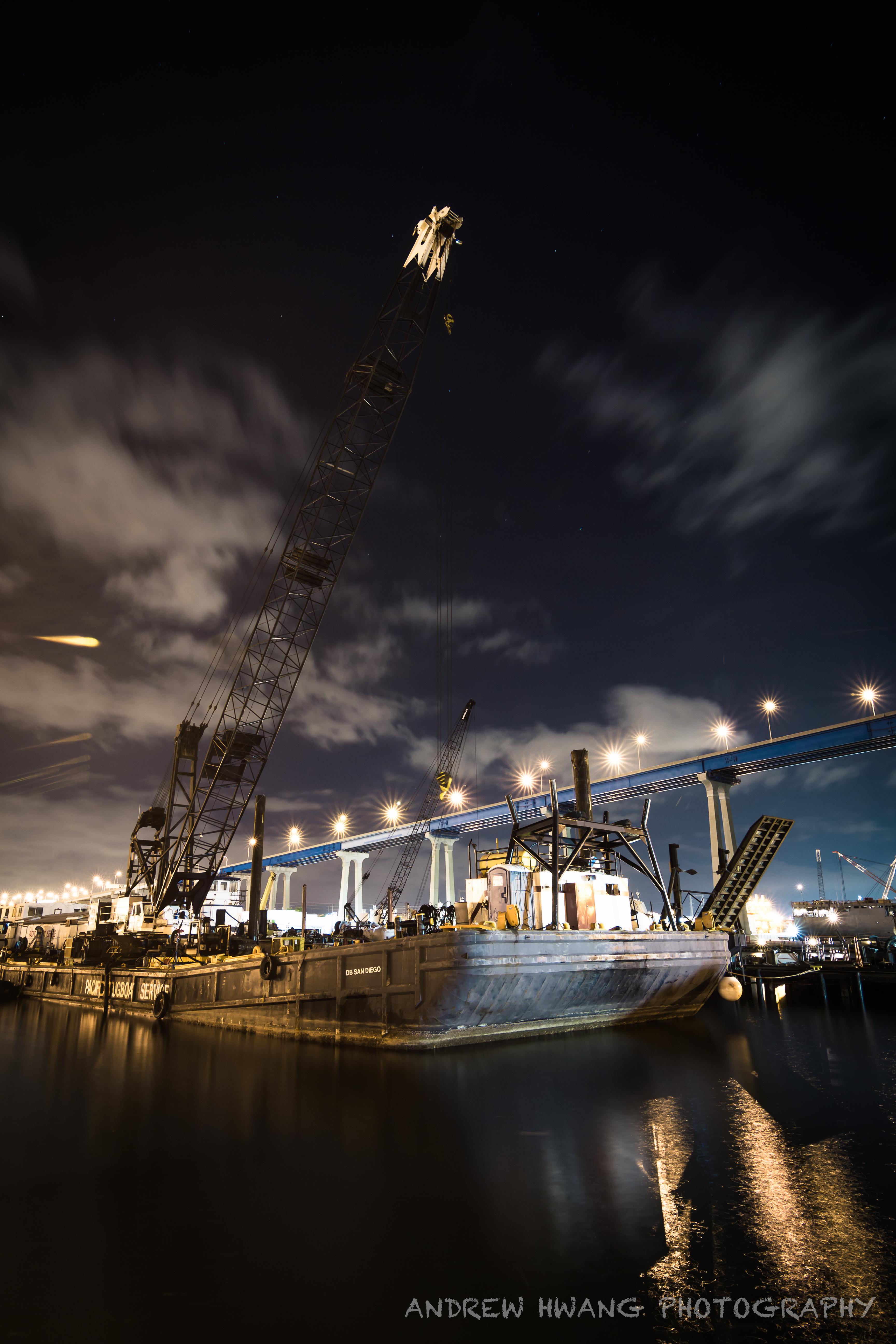 Coronado Bridge Tug Boat