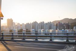 Busan City Sunset