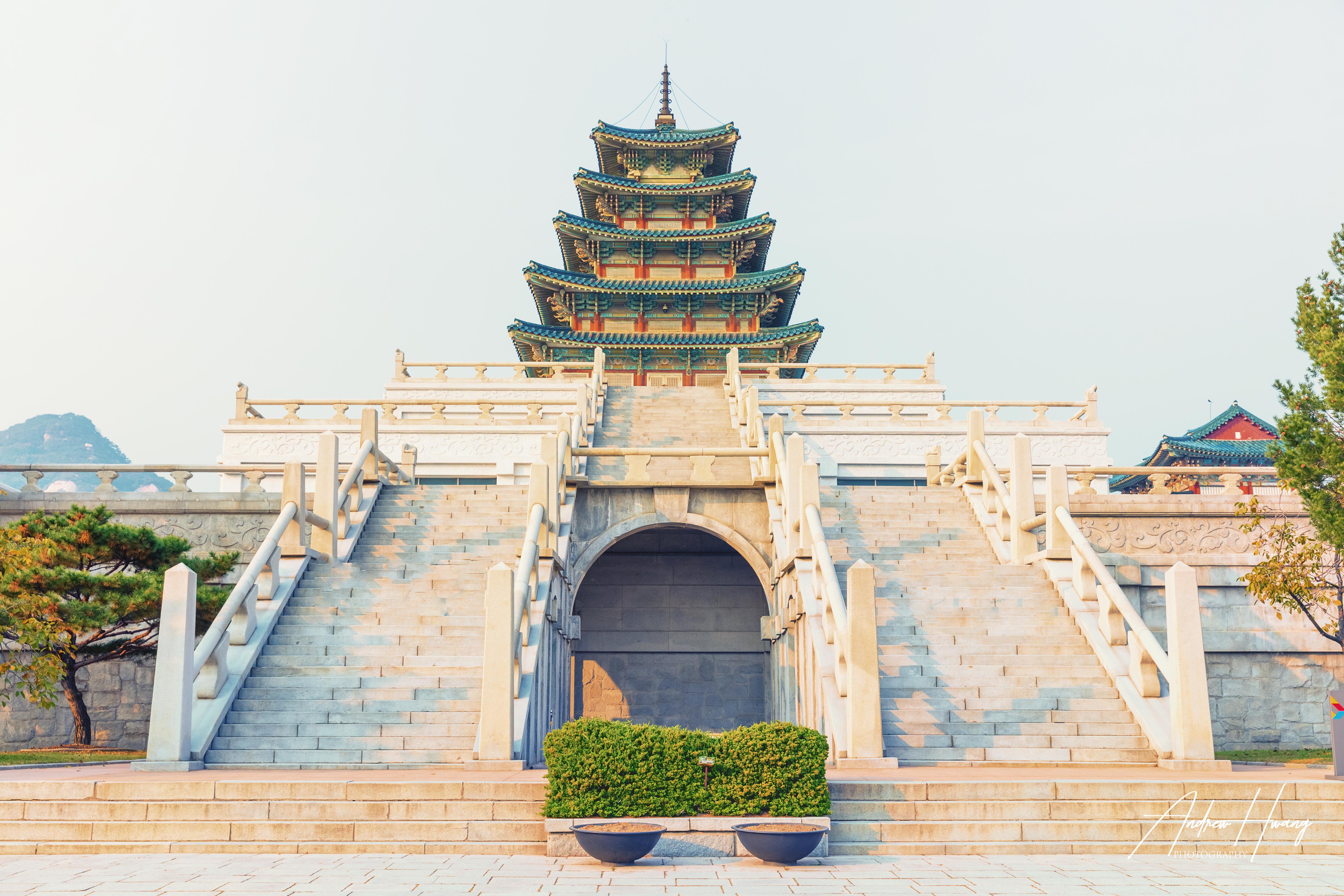 Gyeongbokgung Palace Sunset