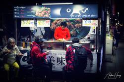 Insadong Market Street Food
