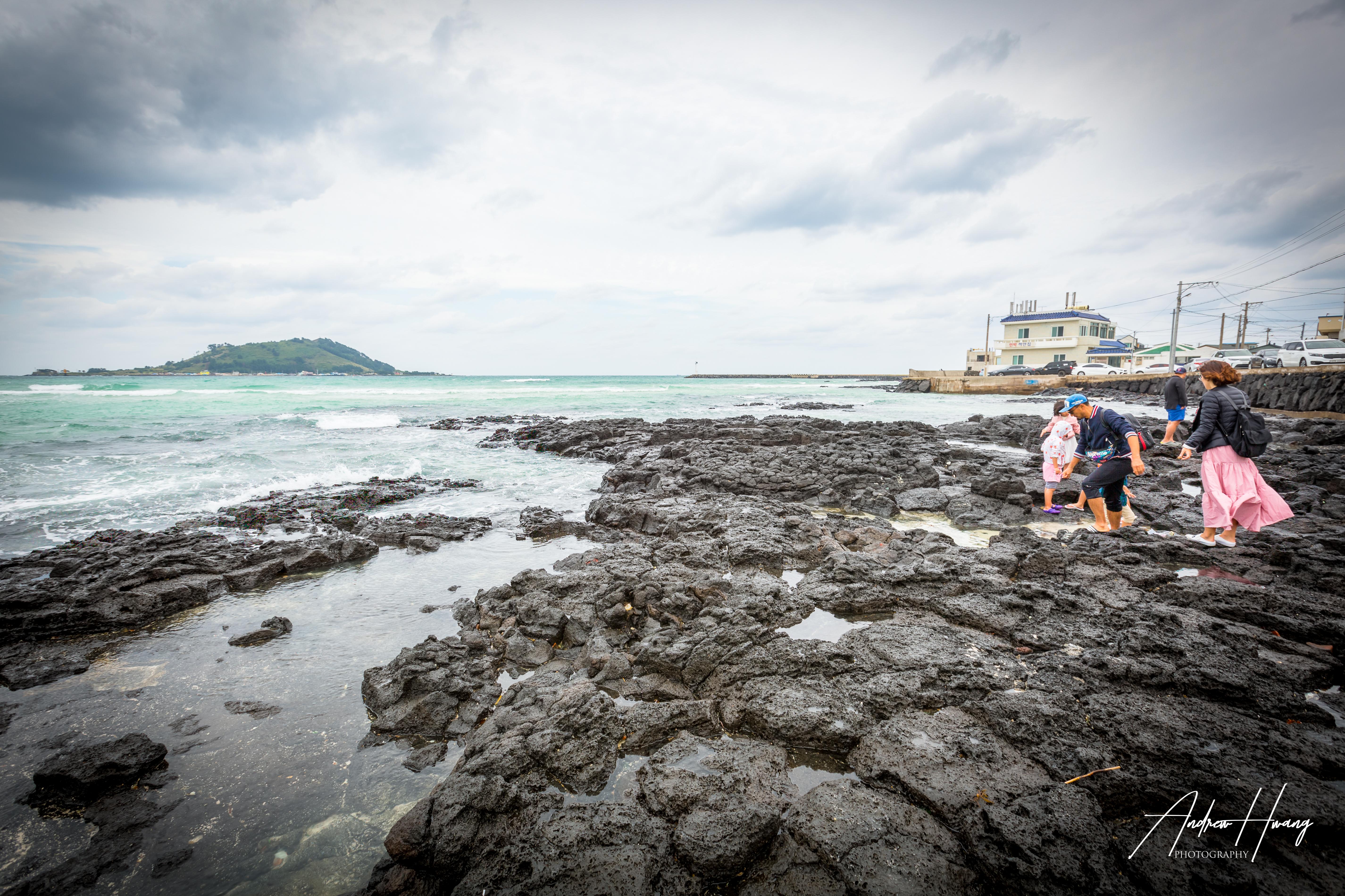 Jeju Island Rocks