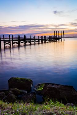 Melbourne Fl Sunset Pier