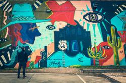 Deep Ellum - Mural Wall Art