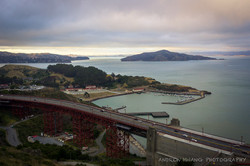 Golden Gate Bridge Rear