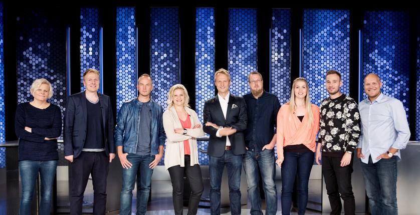 VILLIKORTTI Comedy panel show 1st season