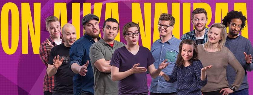 Naurun tasapaino, comedy TV contest, 2015