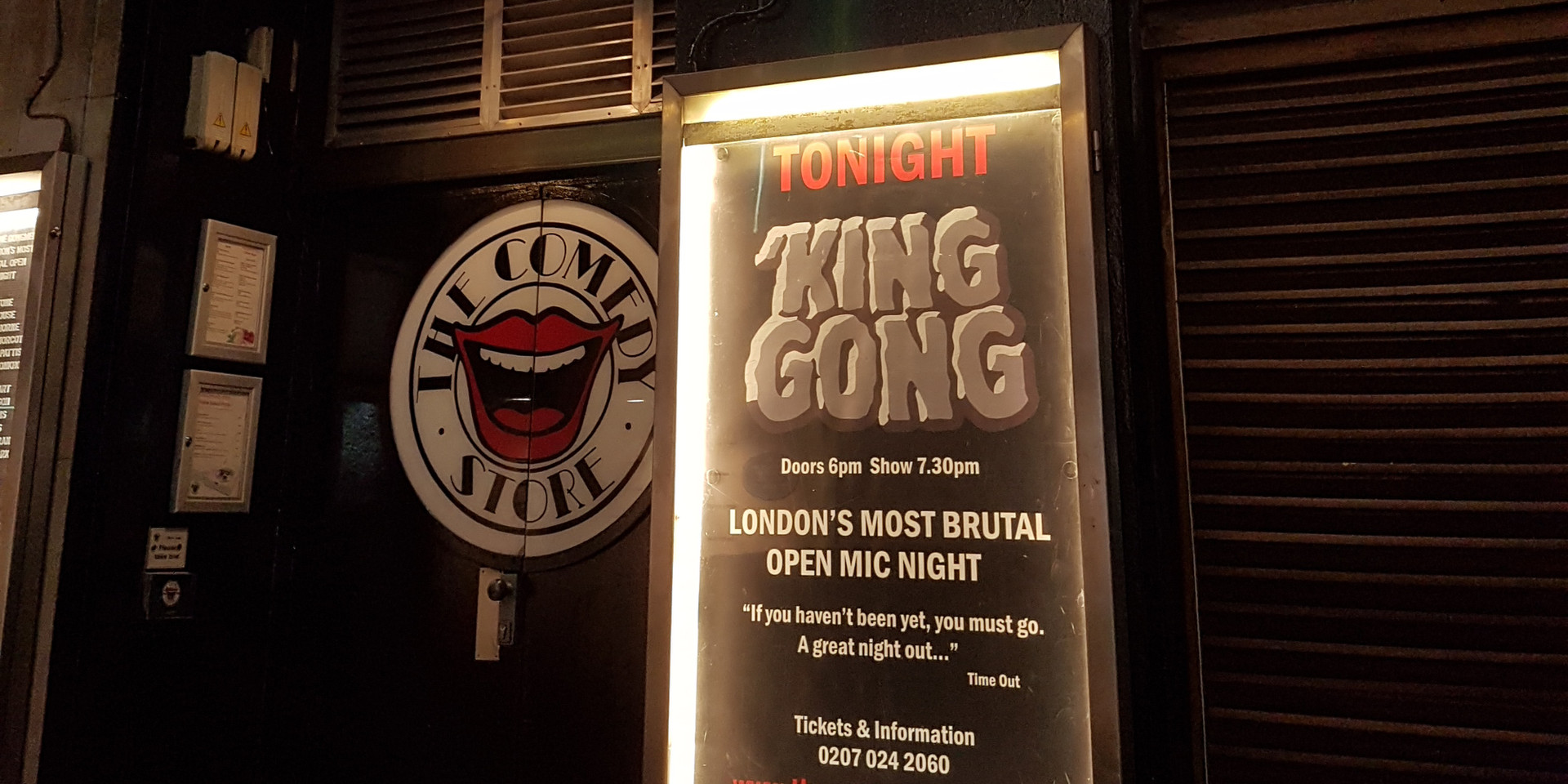 Kong Show, Comedy Store London 2018