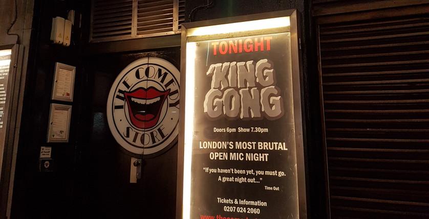 Kong Show, Comedy Store London 2018