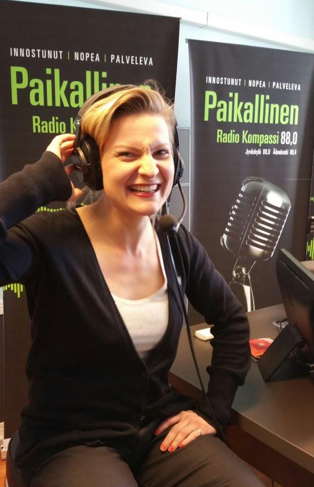 Radio interview at Jyväskylä 2015