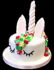 Gâteau 3D licorne