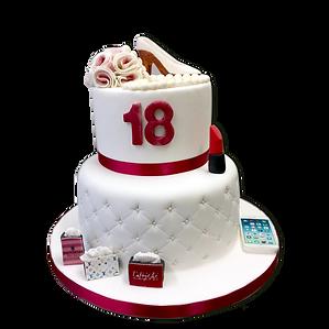 gâteau anniversaire 18 ans