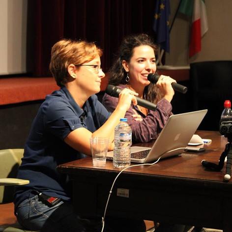 Camilla_et_Laura_Bispuri_à_l'Institut_cu