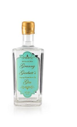 Gin bottle granny garbutt's