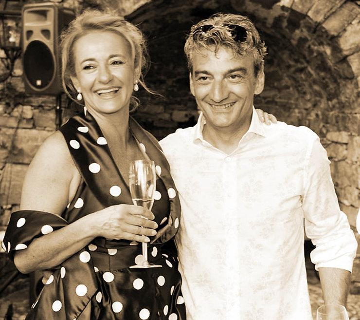 Sergio und Paula die Gastgeber des Restaurants