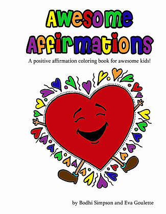 Awesome Affirmations Coloring Book