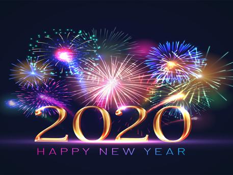 Maeva est les siens vous souhaitent une bonne et heureuse année 2020 🍾🎉❤️