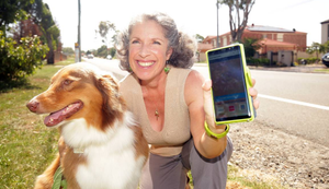 Glenfield's Mary Attard says the Snap Send Solve app is easy to use and identified issues within her community.