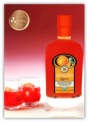 Arancino Organic Blood orange liqueur