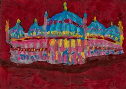 Royal Pavilion at Night