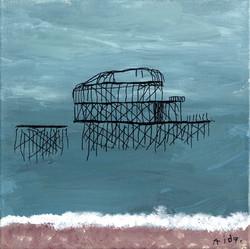 Blue West Pier