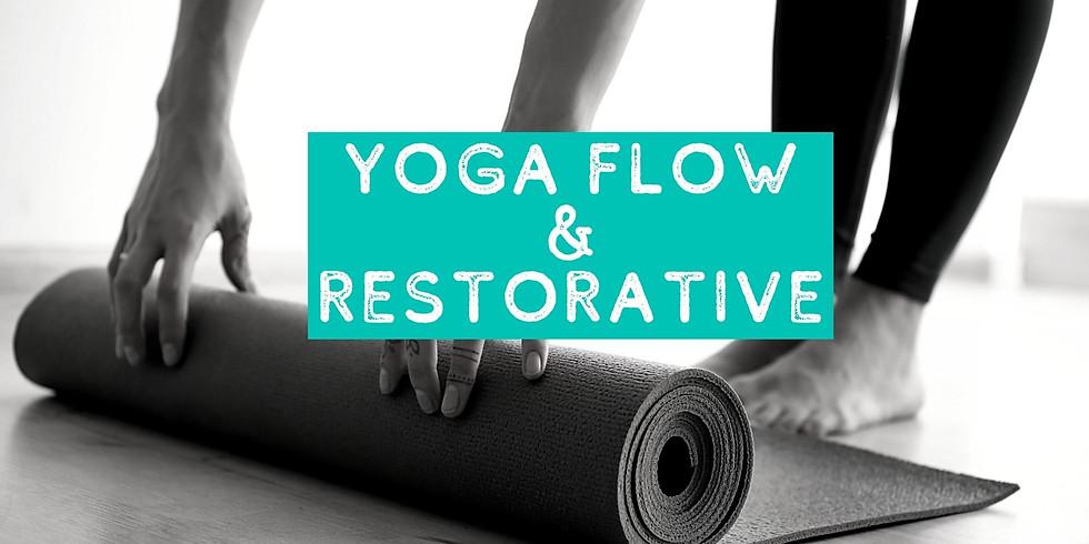 Yoga Flow & Restorative Combo (Tu 12/22)