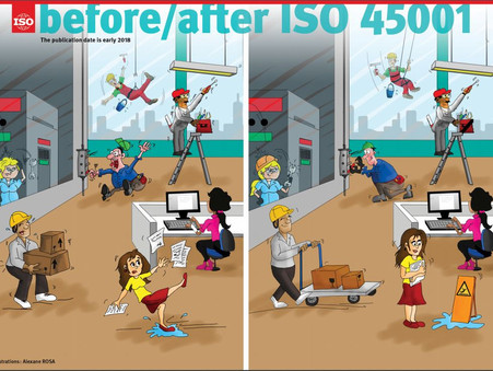 Moving ahead with ISO 45001 for safety and health at work